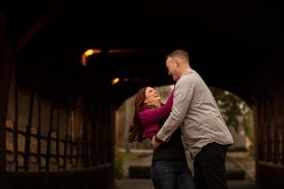 @PhotographerAmy Elizabeth Birdsong Photography Cleveland Engagement Photos Olmsted Falls-5