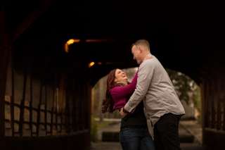 @PhotographerAmy Elizabeth Birdsong Photography Cleveland Engagement Photos Olmsted Falls-5