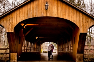 @PhotographerAmy Elizabeth Birdsong Photography Cleveland Engagement Photos Olmsted Falls-7