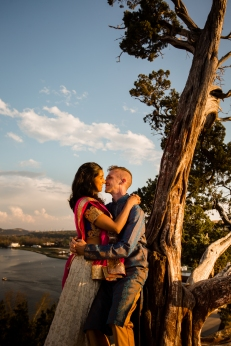 @PhotographerAmy Elizabeth Birdsong Photography 360 Bridge Pennybacker Overlook Engagement Session Austin Hiking Trails-23