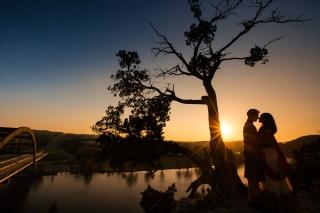@PhotographerAmy Elizabeth Birdsong Photography 360 Bridge Pennybacker Overlook Engagement Session Austin Hiking Trails-25