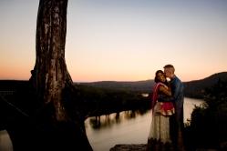 @PhotographerAmy Elizabeth Birdsong Photography 360 Bridge Pennybacker Overlook Engagement Session Austin Hiking Trails-34