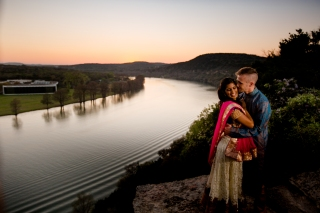 @PhotographerAmy Elizabeth Birdsong Photography 360 Bridge Pennybacker Overlook Engagement Session Austin Hiking Trails-36