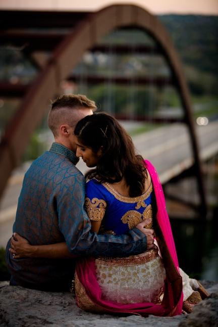 @PhotographerAmy Elizabeth Birdsong Photography 360 Bridge Pennybacker Overlook Engagement Session Austin Hiking Trails-38