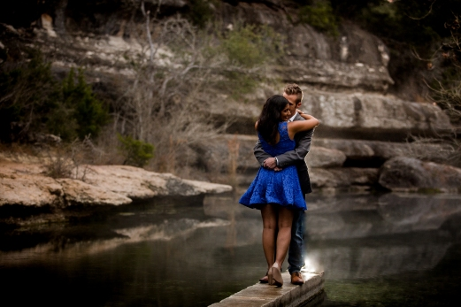 @PhotographerAmy Elizabeth Birdsong Photography Jacobs Well Engagement Session Austin Hiking Trails-10