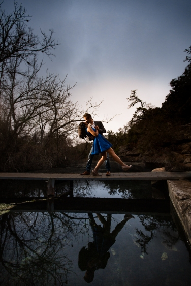 @PhotographerAmy Elizabeth Birdsong Photography Jacobs Well Engagement Session Austin Hiking Trails-11
