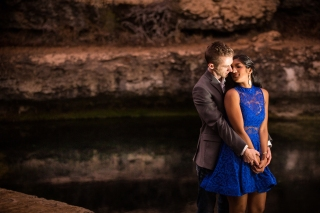 @PhotographerAmy Elizabeth Birdsong Photography Jacobs Well Engagement Session Austin Hiking Trails-14