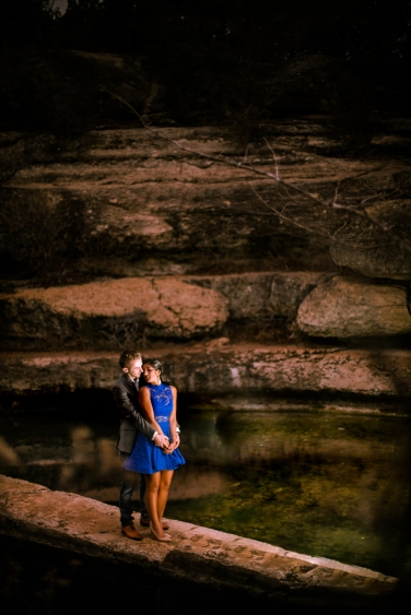 @PhotographerAmy Elizabeth Birdsong Photography Jacobs Well Engagement Session Austin Hiking Trails-17