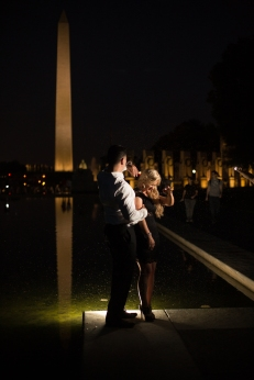 @PhotographerAmy Elizabeth Birdsong Photography Washington DC Engagement Photography by National Monuments-2