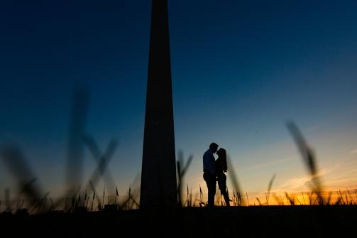 @PhotographerAmy Elizabeth Birdsong Photography Washington DC Engagement Photography by National Monuments-43