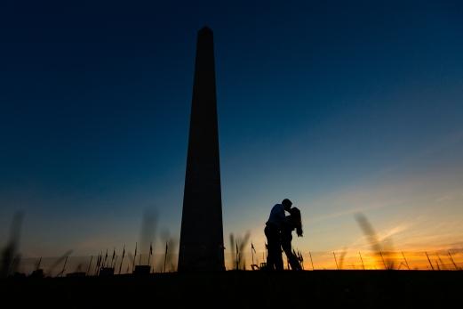 @PhotographerAmy Elizabeth Birdsong Photography Washington DC Engagement Photography by National Monuments-44