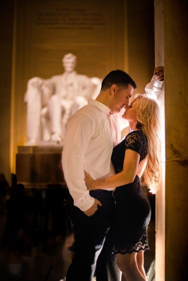 @PhotographerAmy Elizabeth Birdsong Photography Washington DC Engagement Photography by National Monuments-54