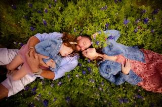 @ Photographer Amy Elizabeth Birdsong Photography Texas Bluebonnet family portrait location photographer-2