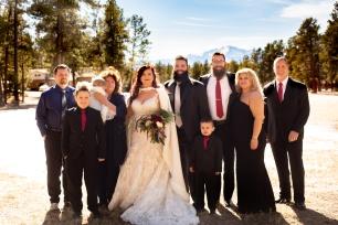 @ Photographer Amy Elizabeth Birdsong Photography Colorado Springs Black Forest Wedding Venue La Foret-25