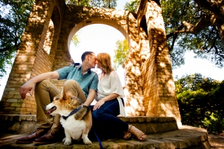 @ Photographer Amy Elizabeth Birdsong Photography Zilker Botanical Gardens Engagement Photos Zilker Park Austin-15