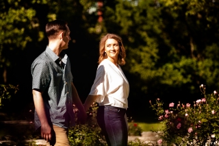 @ Photographer Amy Elizabeth Birdsong Photography Zilker Botanical Gardens Engagement Photos Zilker Park Austin-16
