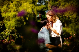 @ Photographer Amy Elizabeth Birdsong Photography Zilker Botanical Gardens Engagement Photos Zilker Park Austin-17