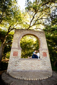 @ Photographer Amy Elizabeth Birdsong Photography Zilker Botanical Gardens Engagement Photos Zilker Park Austin-26