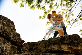 @ Photographer Amy Elizabeth Birdsong Photography Zilker Botanical Gardens Engagement Photos Zilker Park Austin-36