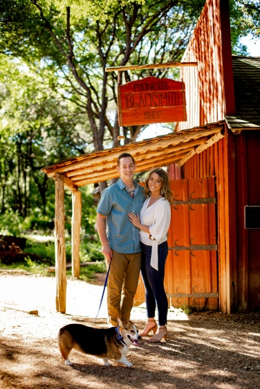 @ Photographer Amy Elizabeth Birdsong Photography Zilker Botanical Gardens Engagement Photos Zilker Park Austin-5