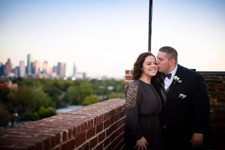 Rooftop Wedding in Houston Texas