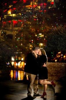 San Antonio Surprise Proposal on the riverwalk
