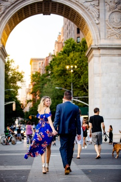 Elizabeth Birdsong Photography Destination wedding photographer NYC best engagement photo locations -5