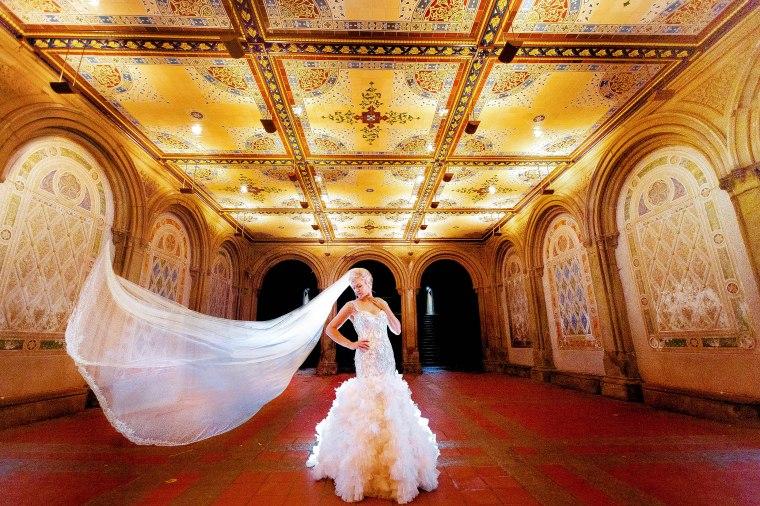 Elizabeth Birdsong Photography Destination wedding photographer NYC Proposal Bethesda Fountain Bridal Photos -1