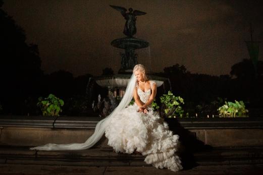 Elizabeth Birdsong Photography Destination wedding photographer NYC Proposal Bethesda Fountain Bridal Photos -15