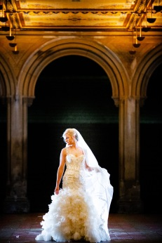 Elizabeth Birdsong Photography Destination wedding photographer NYC Proposal Bethesda Fountain Bridal Photos -7