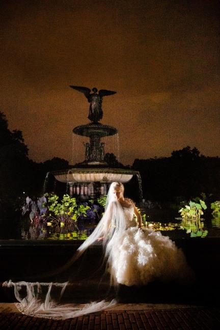 Elizabeth Birdsong Photography Destination wedding photographer NYC Proposal Bethesda Fountain Bridal Photos -9