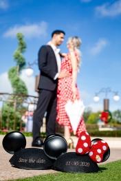@ Photographer Amy Elizabeth Birdsong Photography Disney World Engagement Photos -13