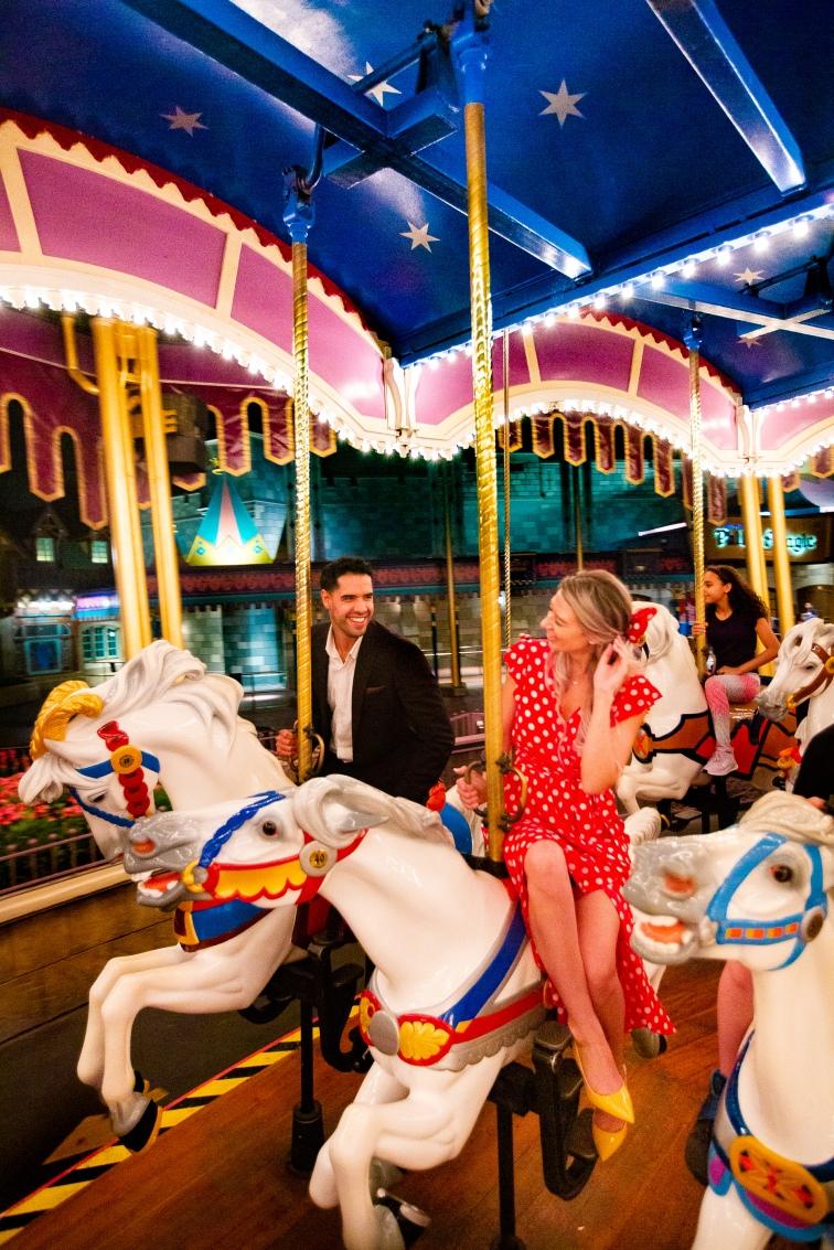 @ Photographer Amy Elizabeth Birdsong Photography Disney World Engagement Photos -63