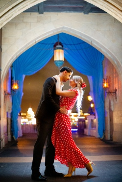 @ Photographer Amy Elizabeth Birdsong Photography Disney World Engagement Photos -66