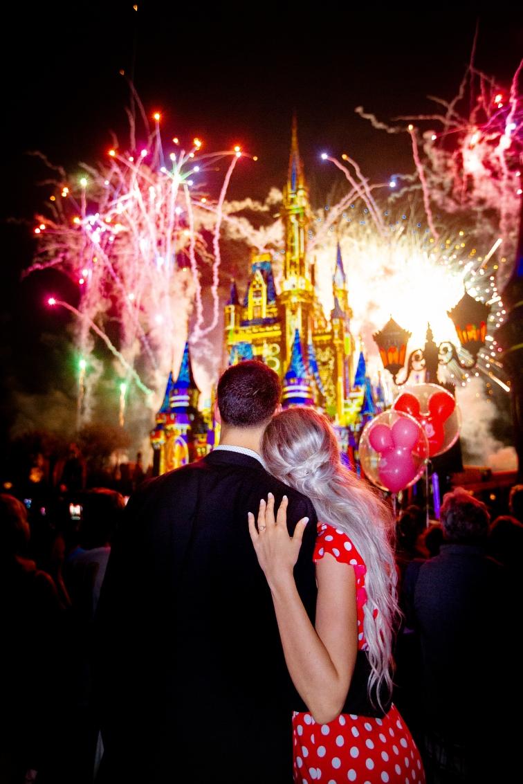 Disney fireworks finale