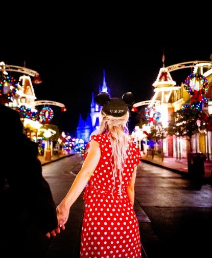 @ Photographer Amy Elizabeth Birdsong Photography Disney World Engagement Photos -85
