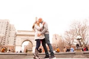Elizabeth Birdsong Photography Destination wedding photographer Washington Square Park engagement Locations NYC-1