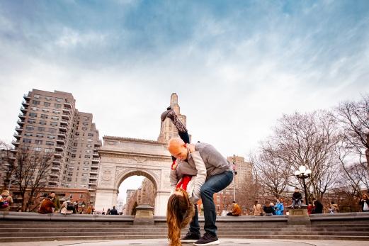 Elizabeth Birdsong Photography Destination wedding photographer Washington Square Park engagement Locations NYC-9