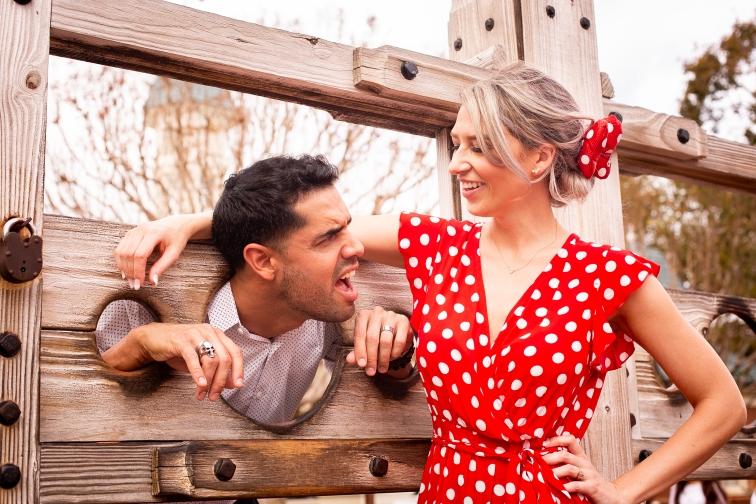 Photographer Amy Elizabeth Birdsong Photography Disney World Magic Kingdom Engagement Photos-40