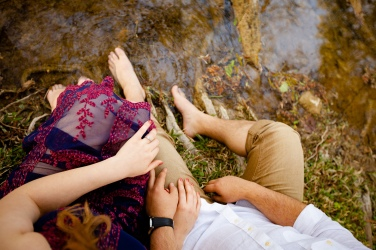 Unique Central Texas Engagement Photo by the river-5